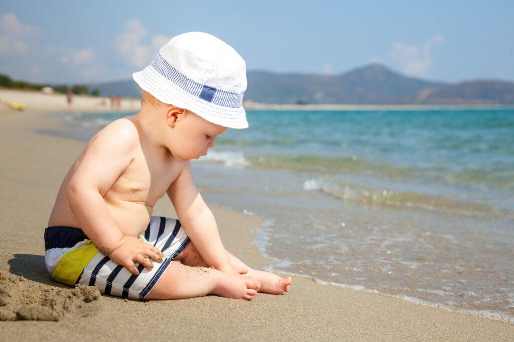 infant-on-a-beach
